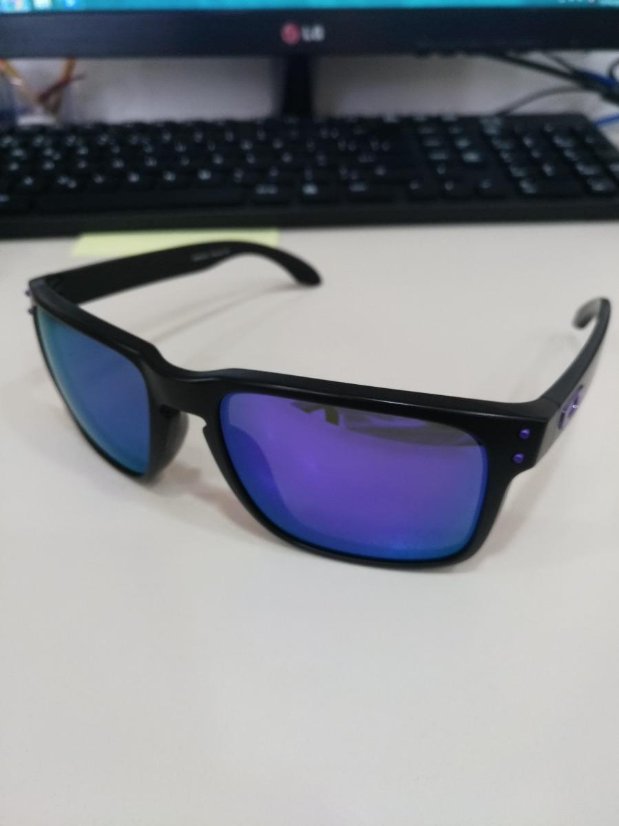 a8788c4fb Óculos Oakley Holbrook Julian Wilson Purple - R$ 410,90 em Mercado Livre