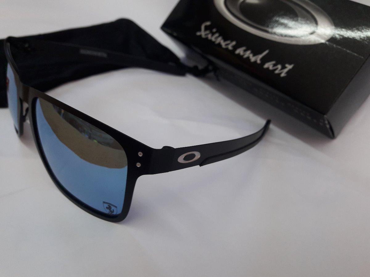 1ff88942f Óculos Oakley Holbrook Metal Azul Piscina Bb - R$ 89,90 em Mercado Livre