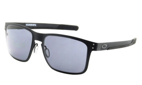 7dc76f0b10 Óculos Oakley Holbrook Metal Oo4123 0155 - Matte Black/grey