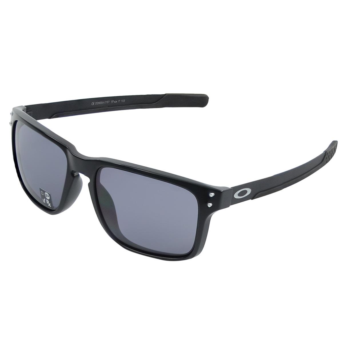 Óculos Oakley Holbrook Mix Matte Black  Lente Grey - R  569,00 em ... 265e89e54f