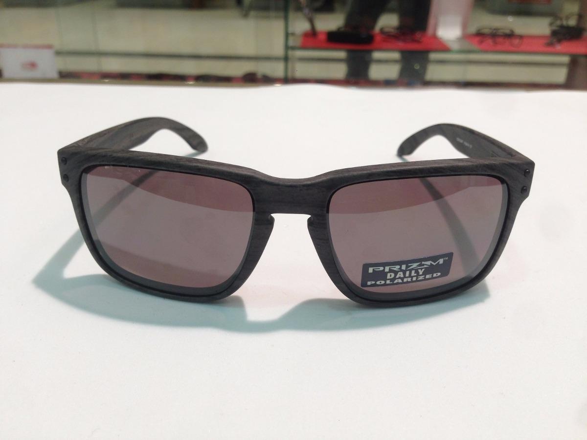 oculos oakley holbrook oo9102-b7 woodgrain prizm original. Carregando zoom. aa70d38d9e