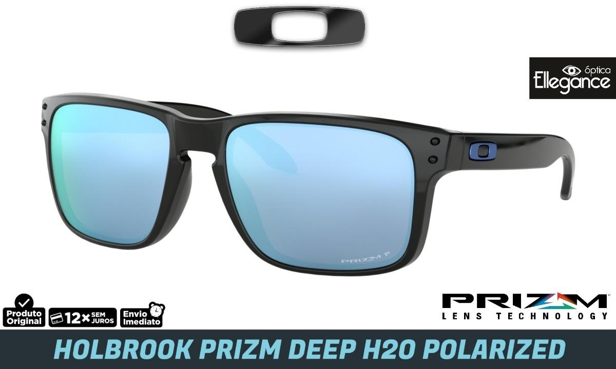 7eb99cefaf8f5 Óculos Oakley Holbrook - Oo9102-c1 - Prizm Deep H20 Polar. - R  589 ...