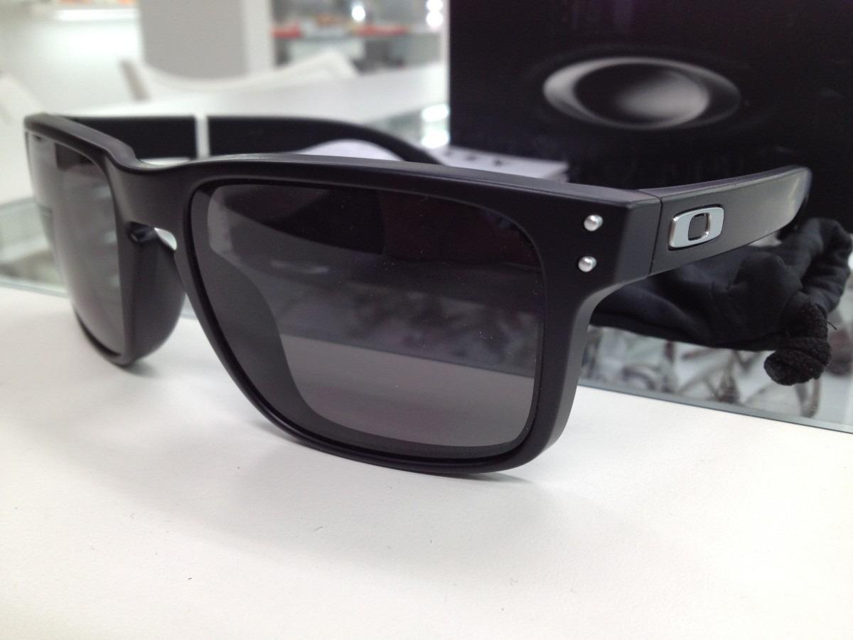 206d59c48 Oculos Oakley Holbrook Oo9102l-01 Mate Back W Original - R$ 419,00 ...