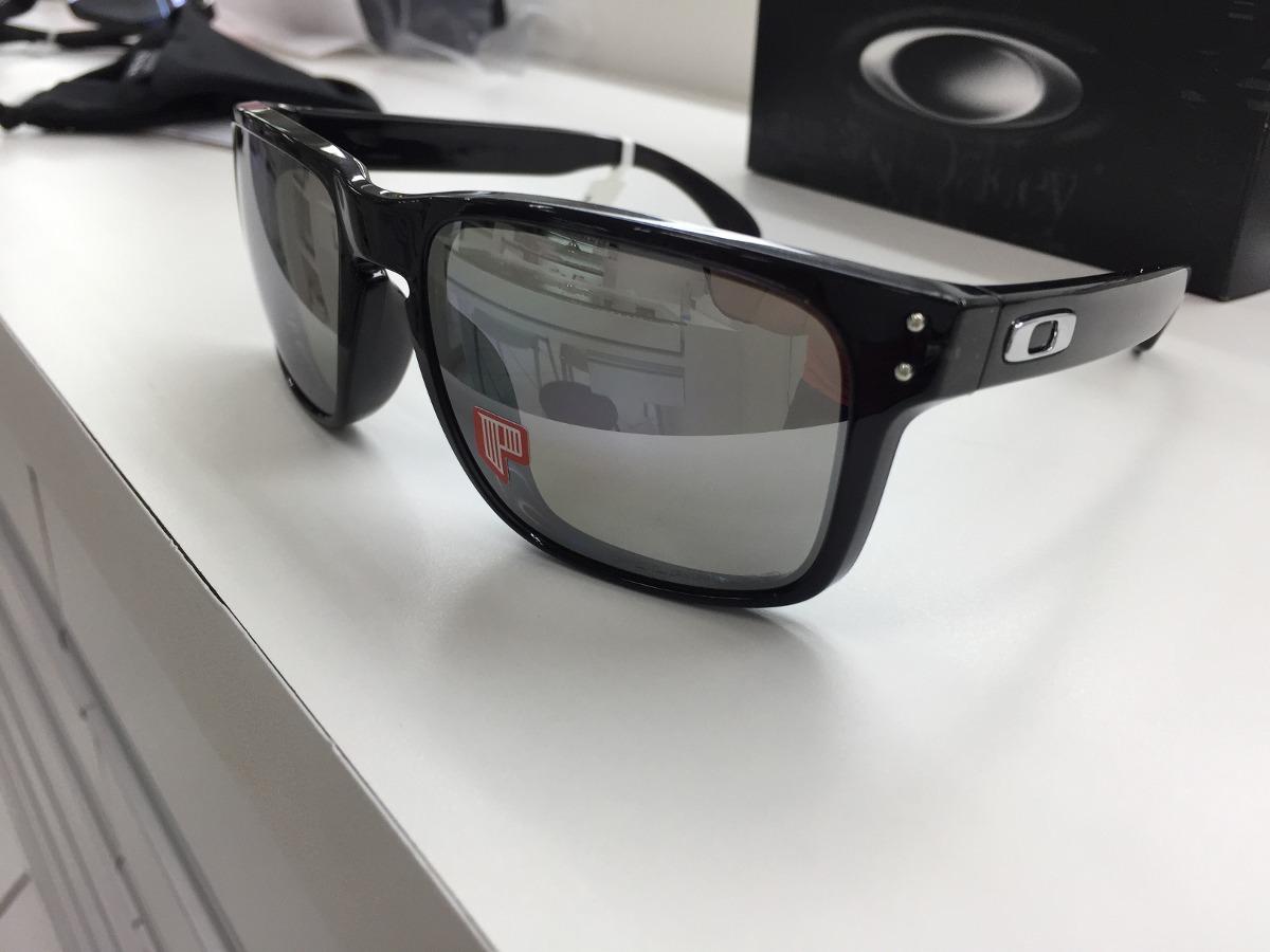d95ca86098ffe oculos oakley holbrook polarizado oo9102 68 chrome iridium. Carregando zoom.