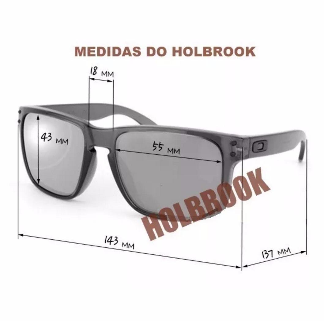 50f76651c óculos oakley holbrook polarizado preto logo amarela vr46. Carregando zoom.