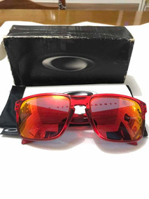 2c2e7f3ae Óculos De Sol Oakley Holbrook Crystal Red Ruby Iridium - Óculos no ...