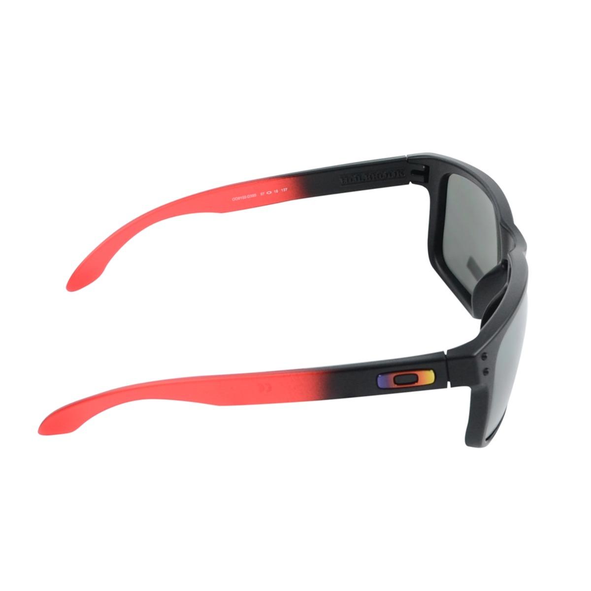 05bb8f413183e óculos oakley holbrook ruby fade prizm preto. Carregando zoom.