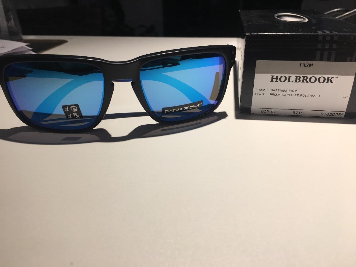 bf85d96a25eb9 Oculos Oakley Holbrook Sapphire Fade Prizm Polarizado - R  379,00 em ...