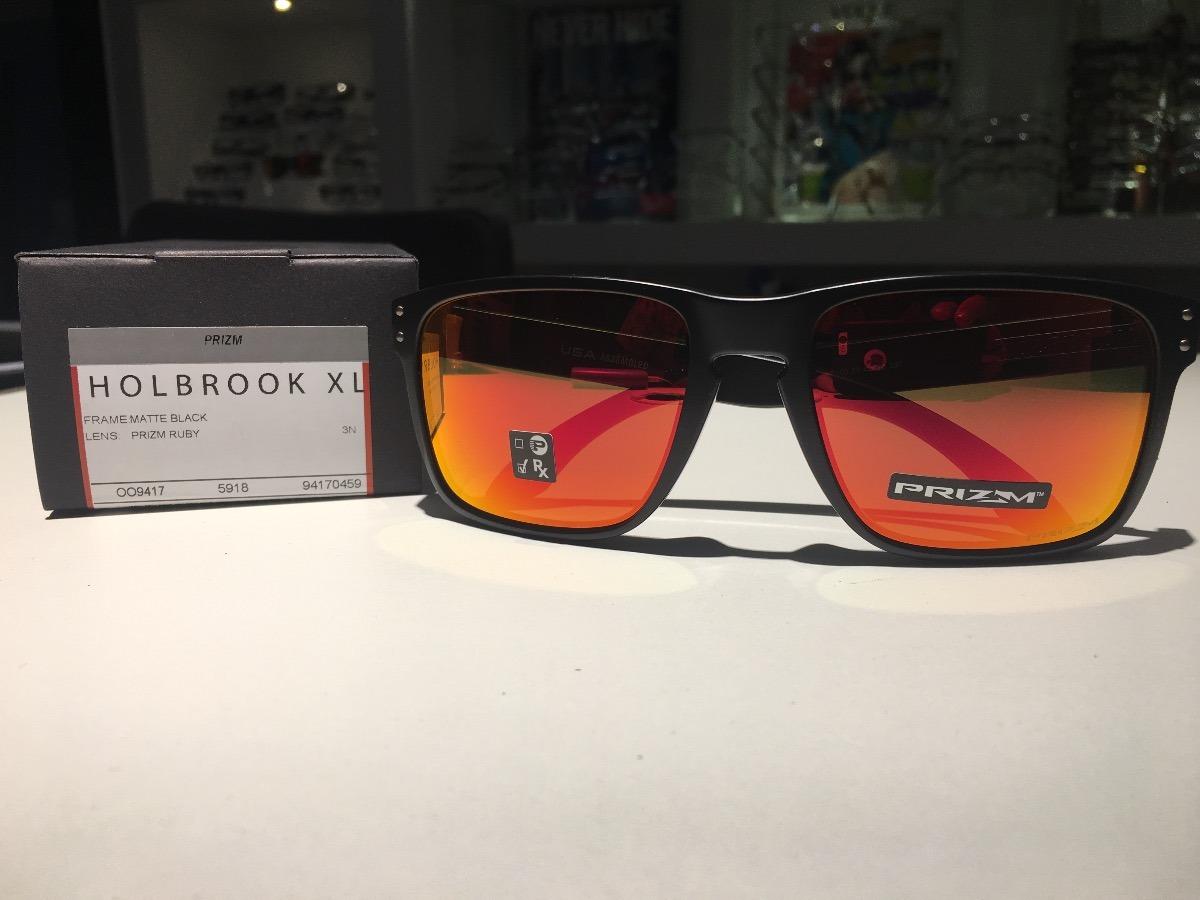 Óculos Oakley Holbrook Xl Lente Prizm Ruby - R  460,00 em Mercado Livre e3c7aca083