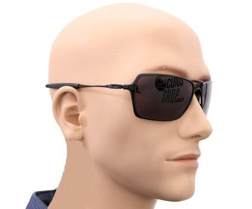 68575ca96017f Oculos Masculino Oakley Inmate Preto Lente Polarizada Preto - R  85 ...