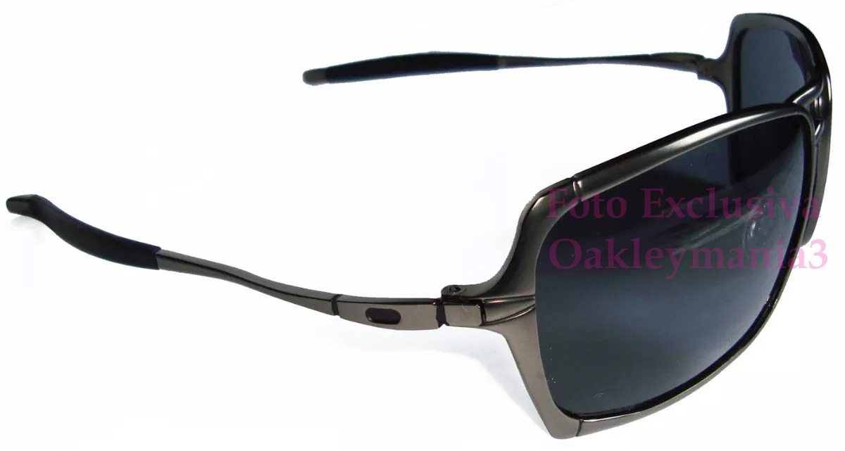 be8b4e3fb58f1 Oculos Oakley Inmate Grafite Lentes Black Polarizadas Uv400 - R  166 ...