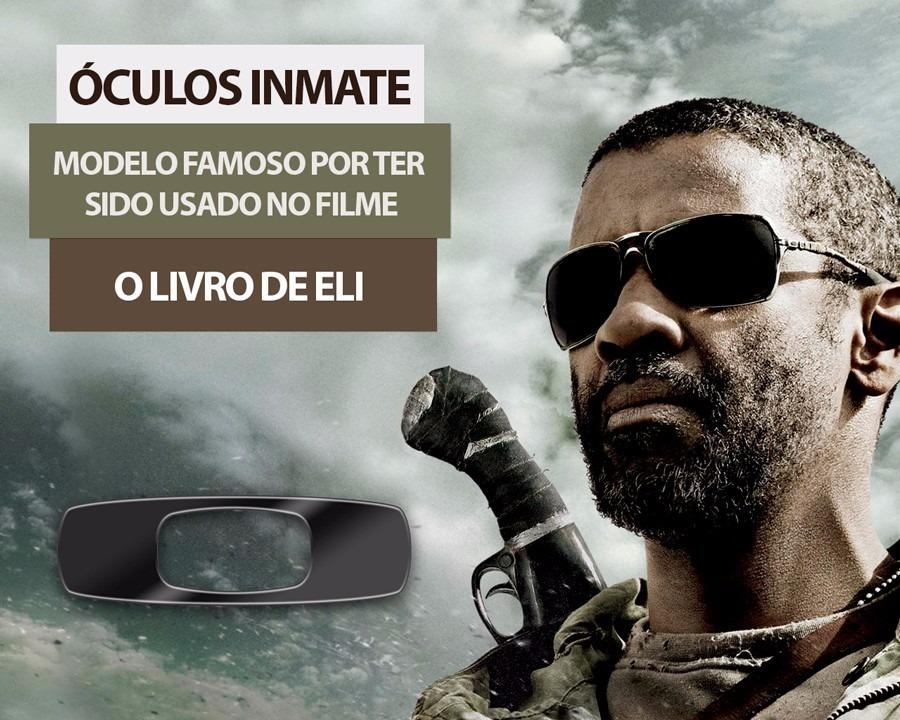 2976e46c10560 Óculos Oakley Inmate 100% Polarizado Pronta Entrega!!! - R  120