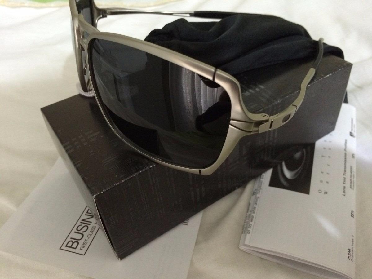 51e09918d4f06 óculos oakley inmate polarizado kit original - frete grátis. Carregando zoom .