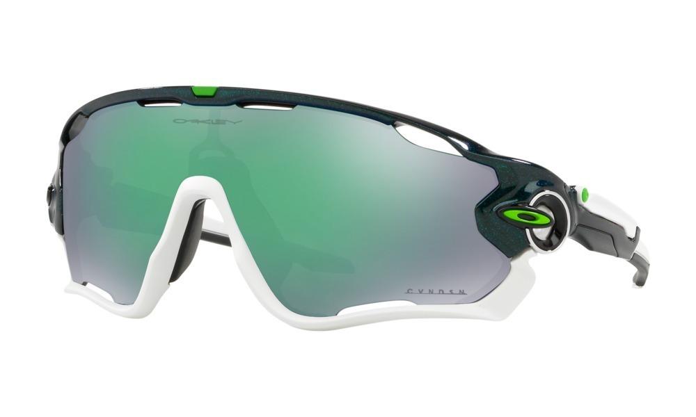 207e084772d1b Óculos Oakley Jaw Breaker Signature Cavendish Prizm Jade - R  629