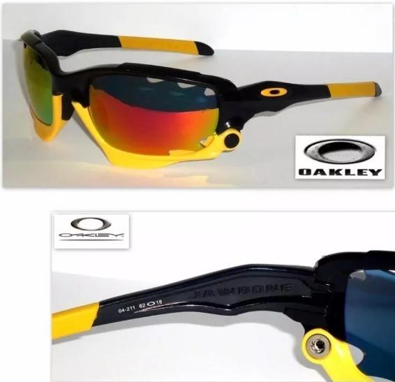 Óculos Oakley Jawbone Livestrong Preto amarelo - R  199,00 em ... fe2d5bbe1b