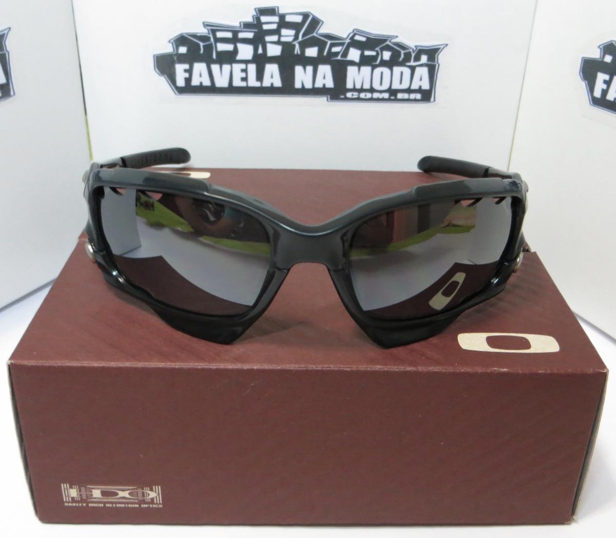 38e237b96944b óculos oakley jawbone (preto cinza) + 2 pares de lentes +. Carregando zoom.