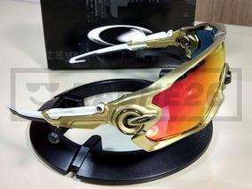 c617228a1 Óculos Oakley Jawbreaker De Sol Ciclismo Esporte Lente Extra