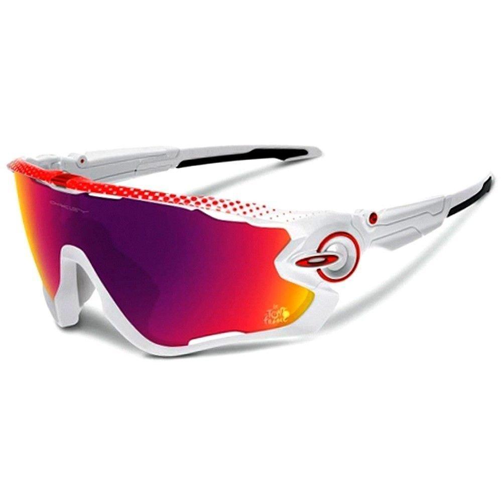 833b01a13c9fc óculos oakley jawbreaker esporte branco prizm road oo9290-18. Carregando  zoom.