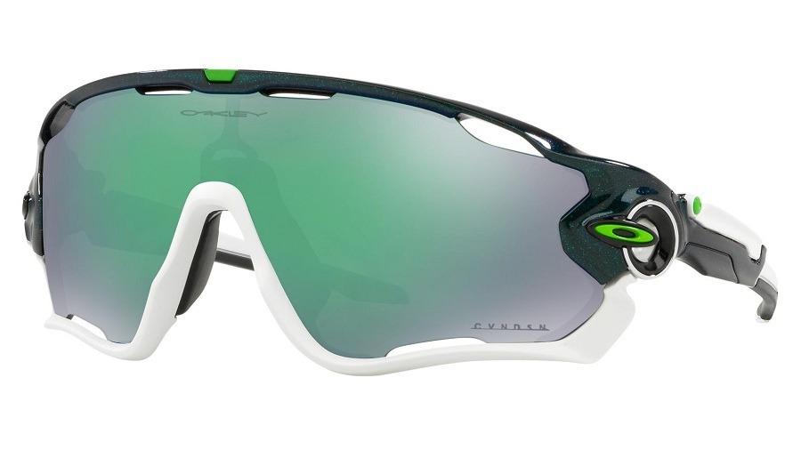 ea7edaefc9b50 óculos oakley jawbreaker metallic green prizm jade iridium. Carregando zoom.