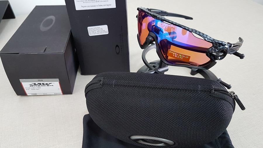 óculos oakley jawbreaker oo9290 25 carbon fiber prizm trail. Carregando  zoom. ce1ed12ecd