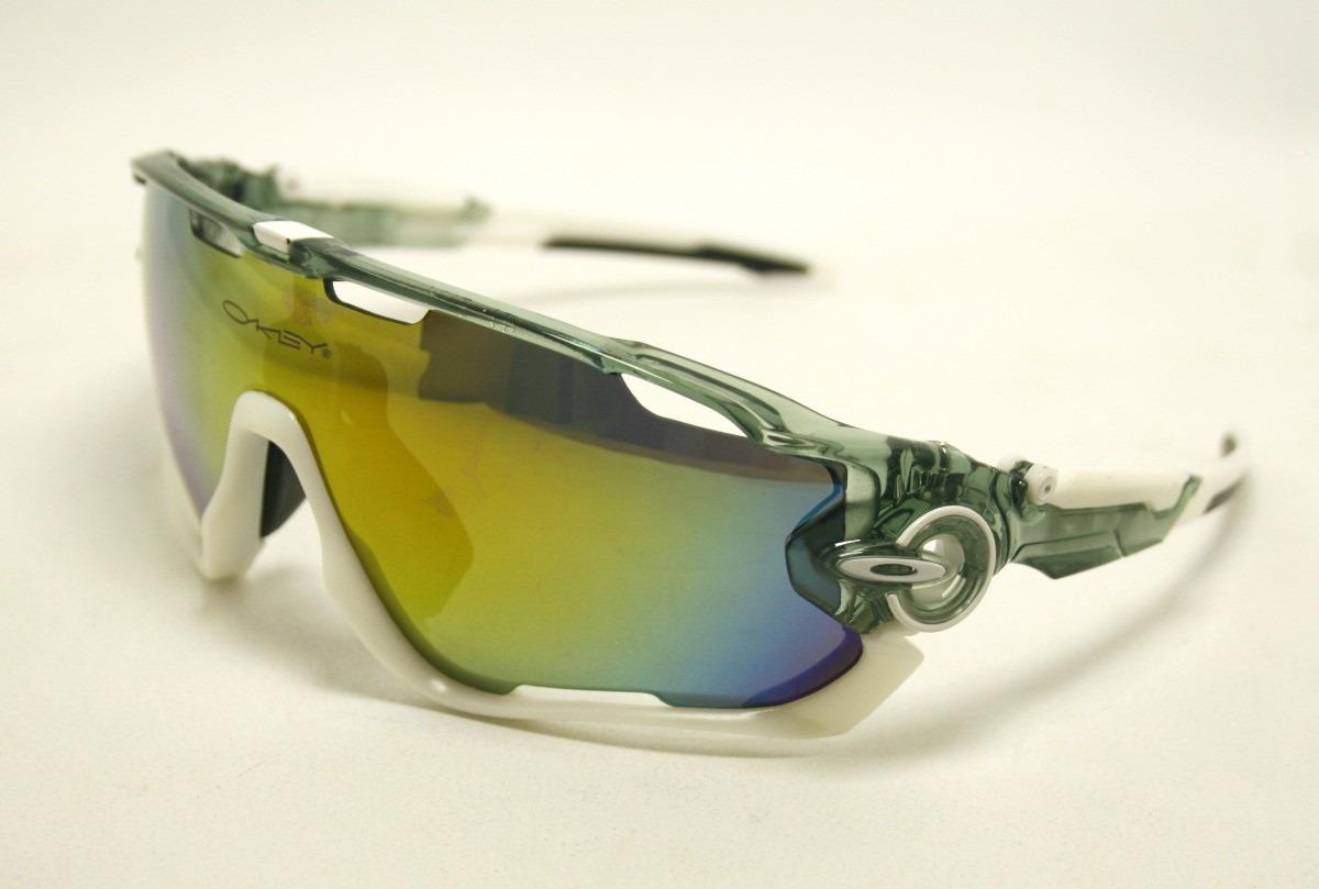 Óculos Oakley Jawbreaker Polarizado 5 Lentes - R  159,90 em Mercado ... e5e719b6e3