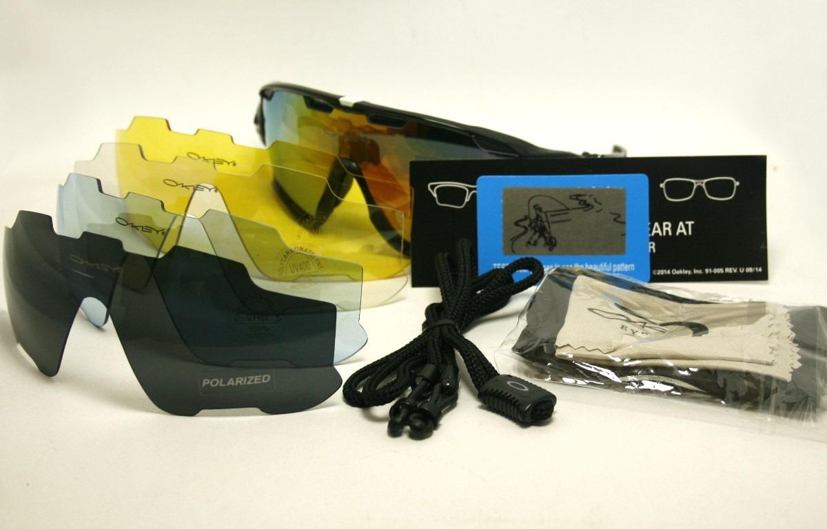 63b54fcae4b15 óculos oakley jawbreaker polarizado 5 lentes verde branco. Carregando zoom.