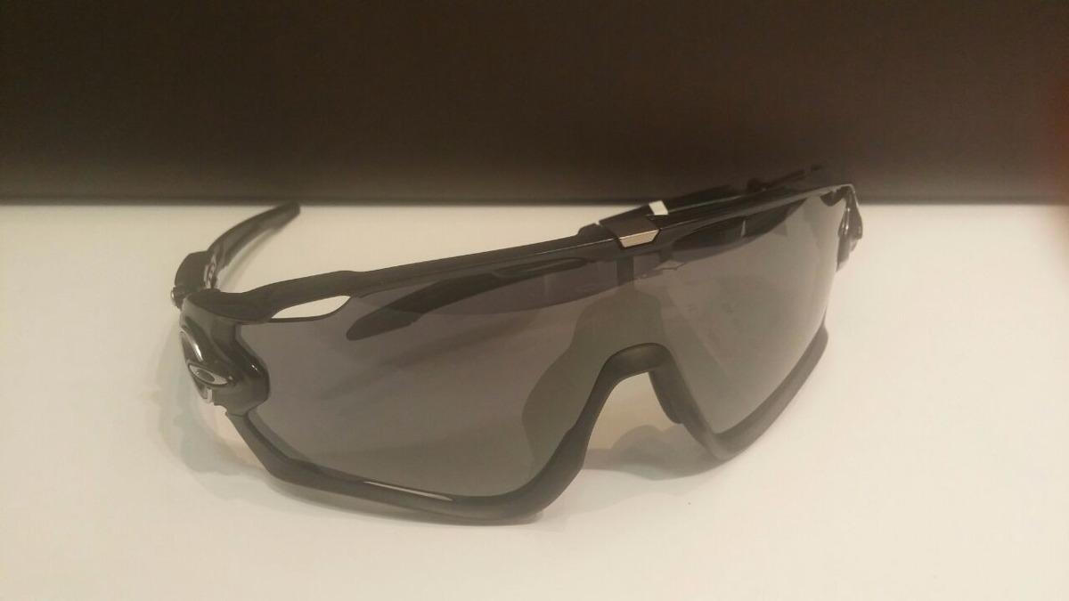 05a176aa2cf4f óculos oakley jawbreaker polished black lente black iridium. Carregando  zoom.