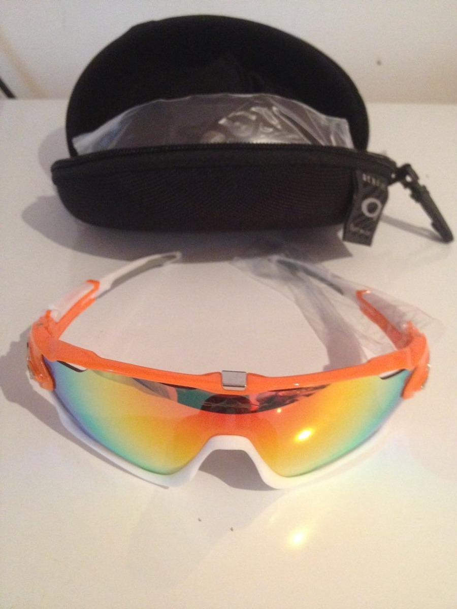 óculos oakley jawbreaker prizm - 4 lentes   com estojo. Carregando zoom. 22eb73e5b6