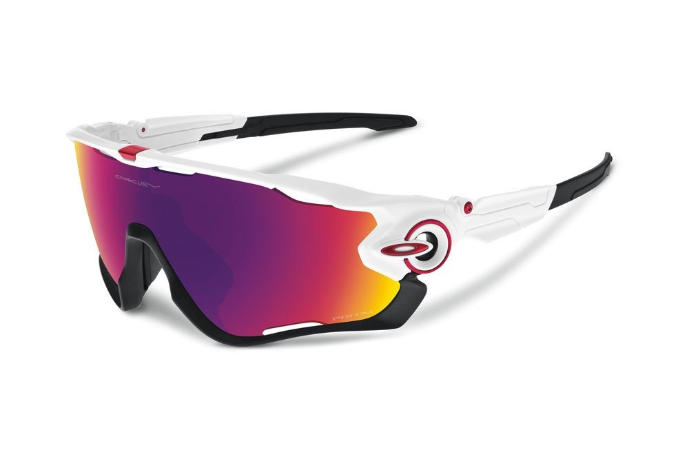 33da5d47b Óculos Oakley Jawbreaker Prizm Road - Branco/vermelho - R$ 539,80 em  Mercado Livre