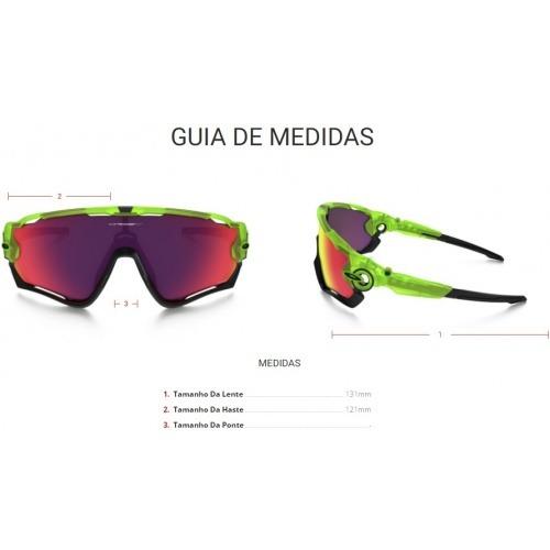 fb8e7f431 Óculos Oakley Jawbreaker Uranium W/prizm Road - Verde - R$ 924,09 em ...