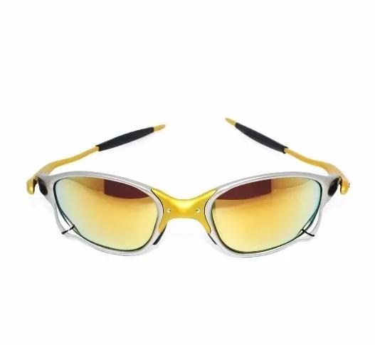 Óculos Oakley Juliet 100% 24k 100% Polarizado Promoção - R  99,99 em ... fbeaec0ac7
