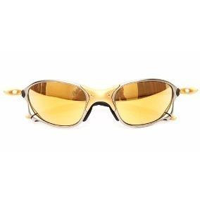 Óculos Oakley Juliet 100% 24k Polarizado Dourado Promoção - R  119 ... 22b9d64bac