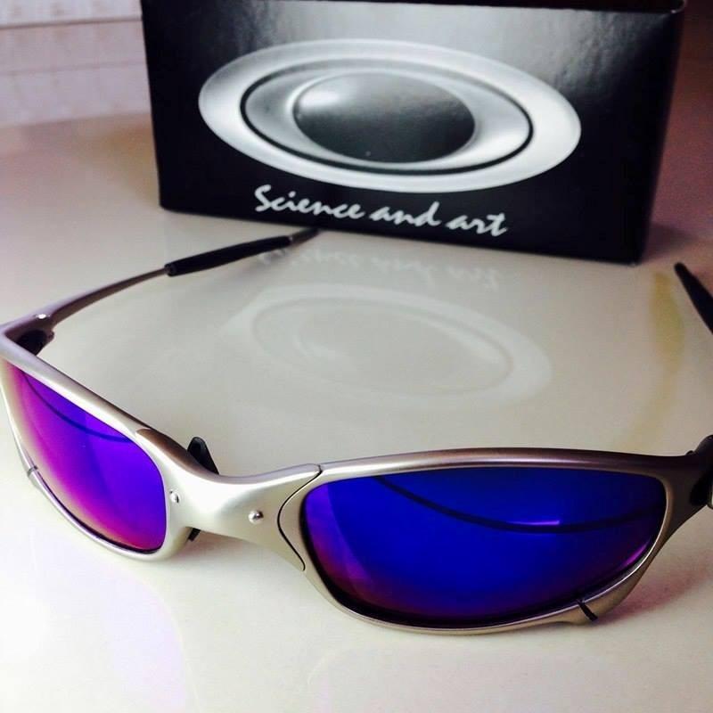 35e3016242cd4 Óculos Oakley Juliet 24k Double X Romeo 1 2 Lente Ruby - R  129,99 ...