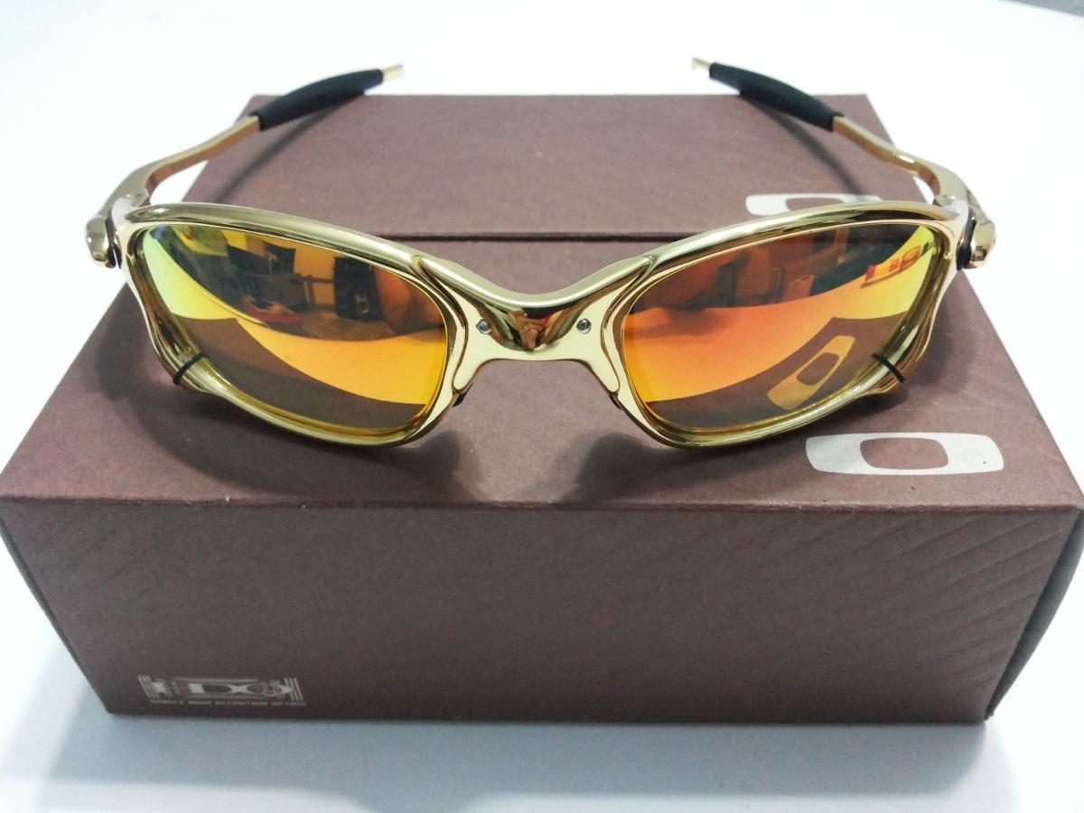 23edd81586619 oculos oakley juliet 24k double x squared dourada gold. Carregando zoom.