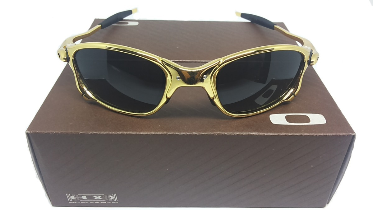 óculos oakley juliet 24k double xx penny mars dourada gold. Carregando zoom. 130c35421b