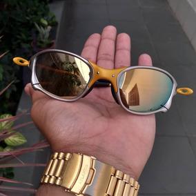9899c76dc Oakley Juliet Lente Dourada De Sol - Óculos no Mercado Livre Brasil