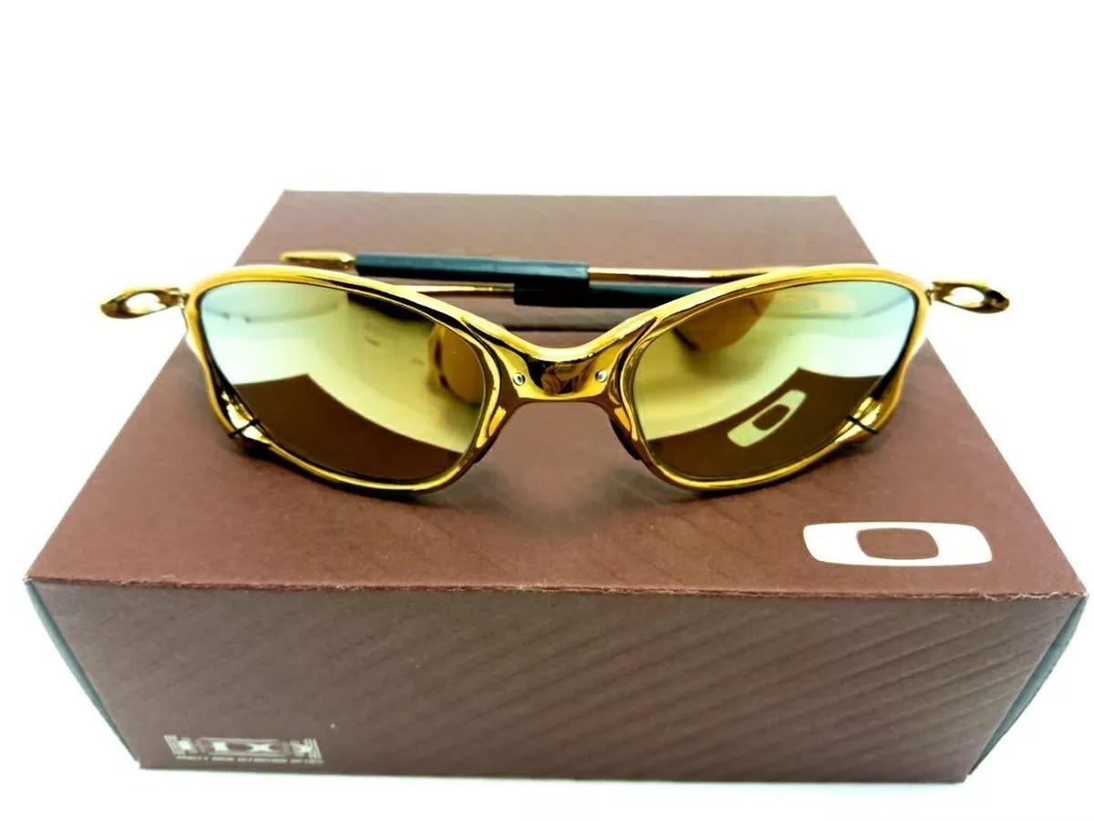 3bbba80c6ea32 óculos oakley juliet 24k squared penny romeo double x!!! Carregando zoom.