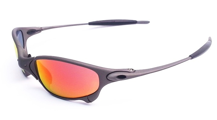 oculos oakley juliet x metal dark ruby titanium original. Carregando  zoom... oculos oakley juliet ea9028330c