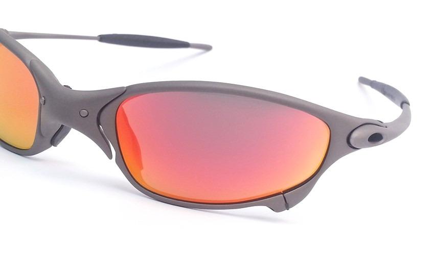 8b8912ddeb950 Carregando zoom... oakley juliet oculos · oculos oakley juliet x metal dark  ruby titanium original