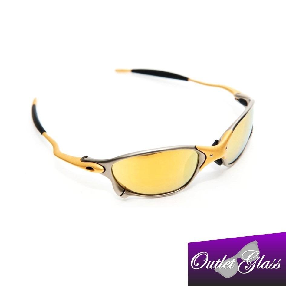 Oculos Oakley Juliet 100% 24k 100% Polarizado Pronta Entrega - R  79 ... 7a589f94e4