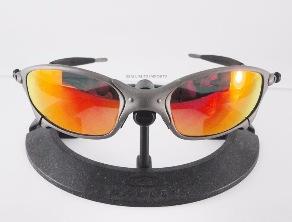 6573c1b508130 Oculos Oakley Juliet X Metal E Ruby - R  1.350