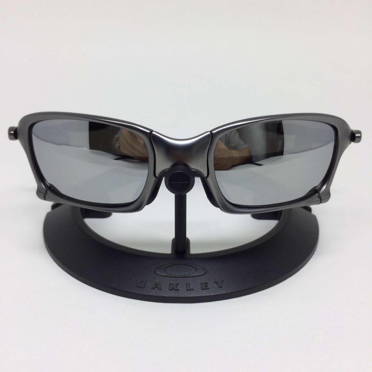 Oculos Oakley Juliet Squared Armação Grafite Lente Prata - R  159,00 ... 56d3518372