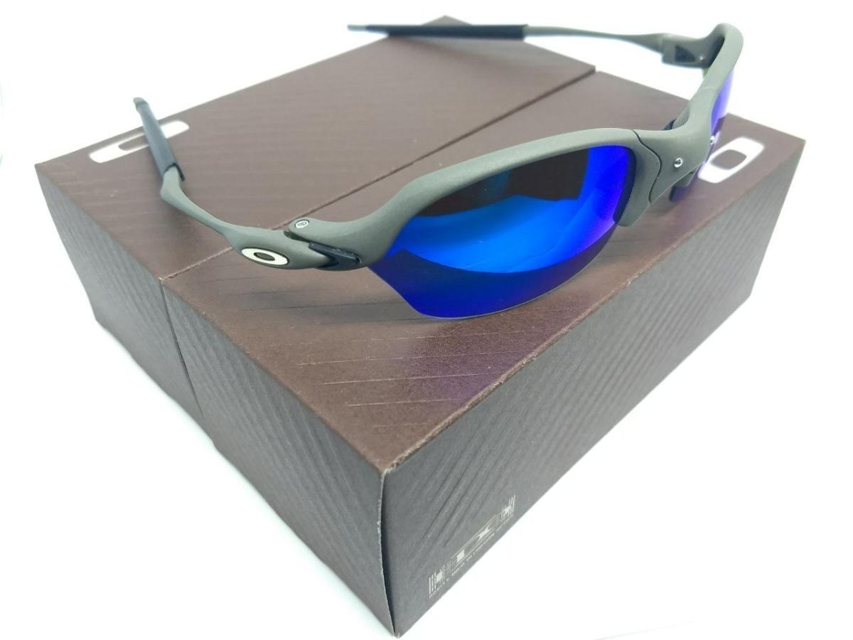 8c763f1673d2f oculos oakley juliet romeo 2 x metal lente magic blue top. Carregando  zoom... oculos oakley juliet. Carregando zoom.