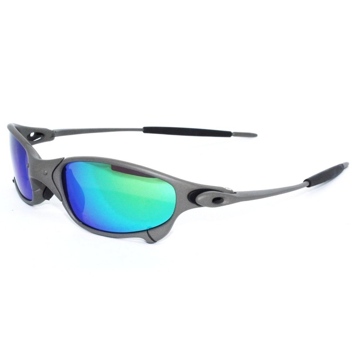 Óculos Oakley Juliet 100% 24k 100% Polarizado Pronta Entrega - R ... 1c2222557e