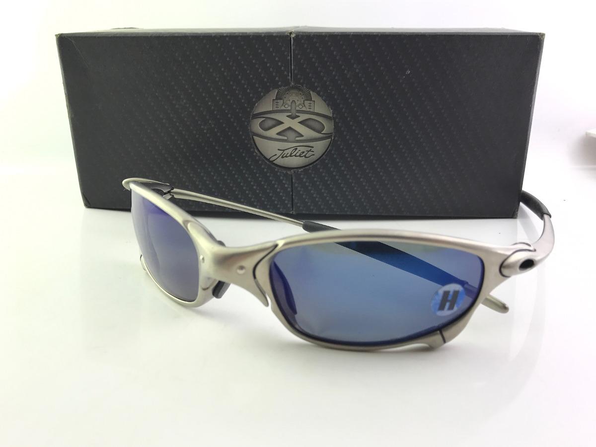 Óculos Oakley Juliet Plasma Ice Polarizado Novo Sem Uso - R  3.300 ... 35e8b0d22b
