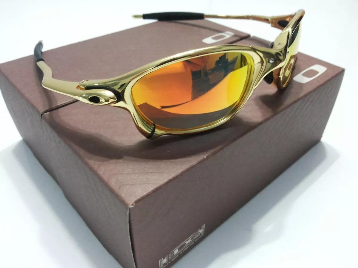 43d7ccb61b990 ... metal juliet 24k double x dourada gold. Carregando zoom... oculos  oakley juliet. Carregando zoom.