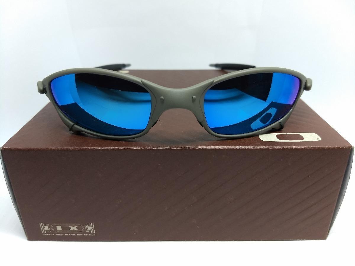 c0f4e31fa4 Oculos Oakley Double Xx Juliet Squared 24k Masculino Azul - R  149 ...