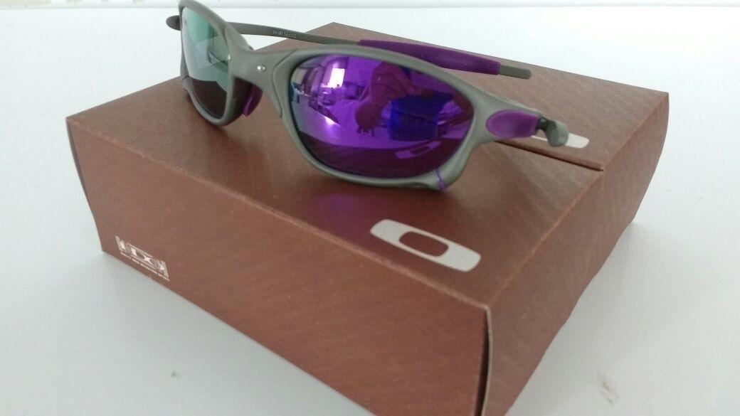 óculos oakley 24k x-squared romeo double x juliet roxa. Carregando zoom... óculos  oakley juliet. Carregando zoom. 73809b17cf