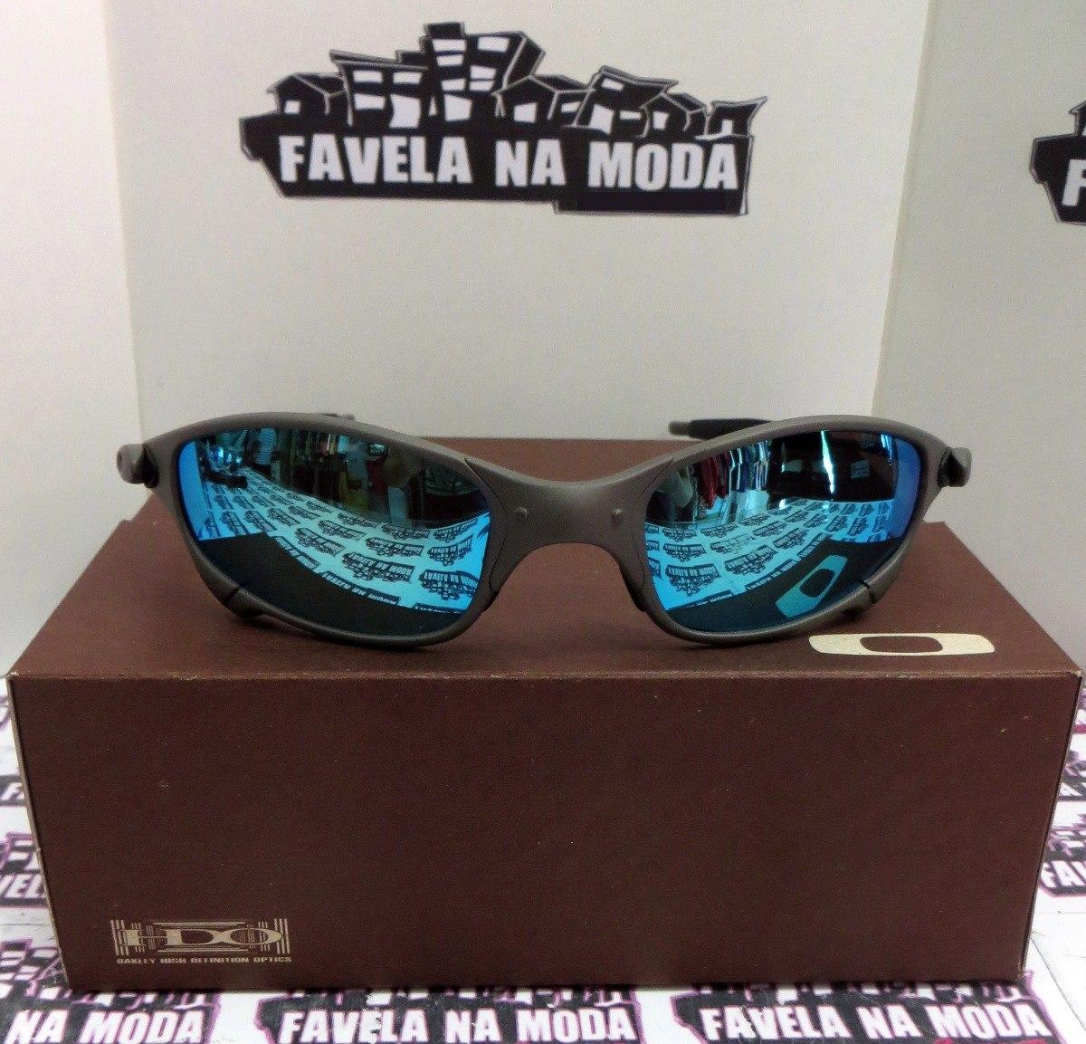 Óculos Oakley Juliet   Xmetal   Ice Thug + Par De Lentes - R  179,00 ... ba0258be8c