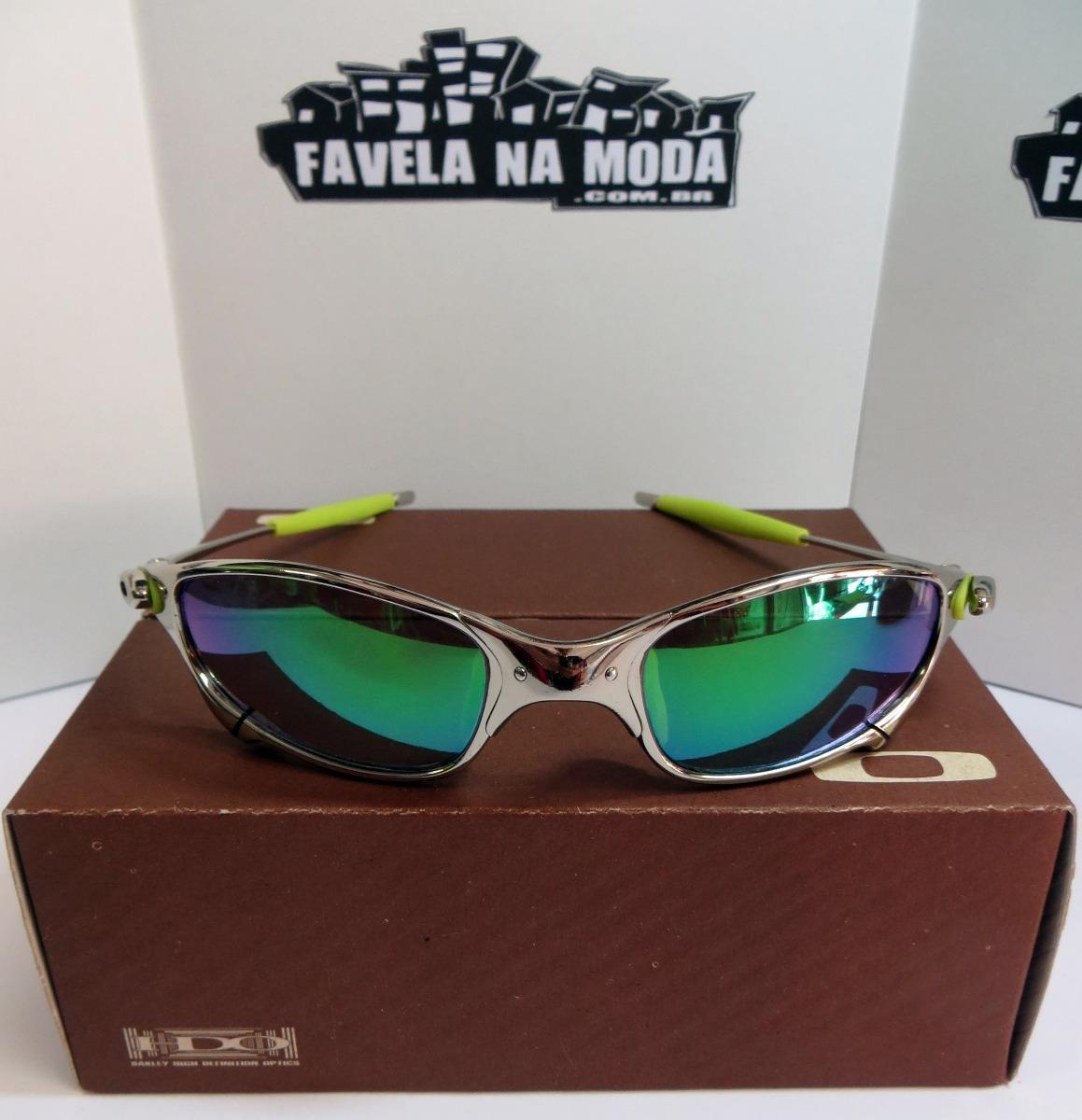 Óculos Oakley Juliet   Polished   Green Jade + Par De Lentes - R ... b231cf81ba
